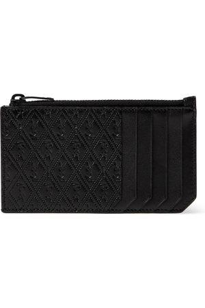 Saint Laurent Heren Portemonnees - Monogram-Debossed Leather Cardholder