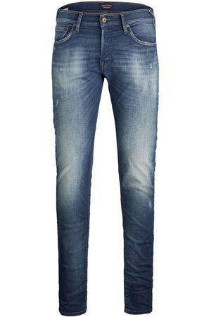 Jack & Jones Glenn Rock Jj 358 Sps Slim Fit Jeans Heren Blauw