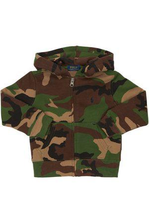 Ralph Lauren Camouflage Cotton Sweatshirt Hoodie