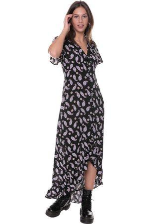 Colourful rebel Tyra Paisley High Low Maxi dress