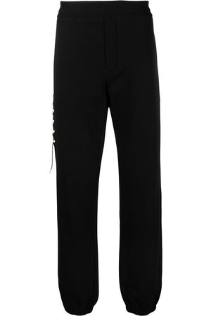 CRAIG GREEN Lace-up detail cotton track trousers