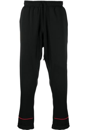 Alchemy Contrasting trim track pants