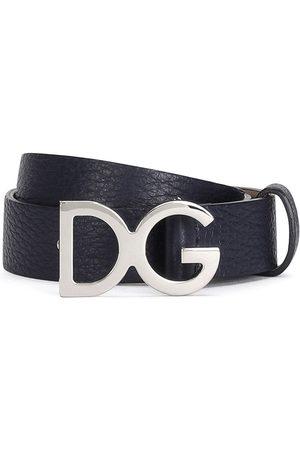 Dolce & Gabbana Logo-plaque buckle belt