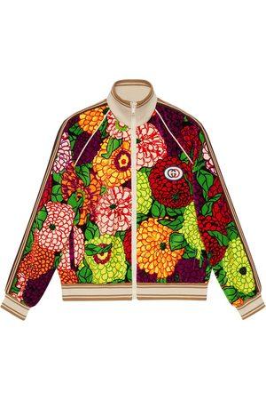 Gucci Ken Scott print zip-up jacket