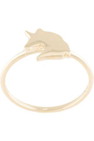 Karen Walker 9Kt Unicorn ring