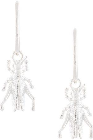 Karen Walker Dames Oorbellen - Grasshopper Sleepers drop earrings