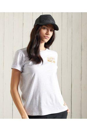 Superdry Dames T-shirts - Sprankelend T-shirt met glitters