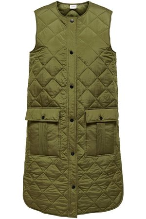 Only Dames Bodywarmers - Gewatteerde Gilet Dames Green