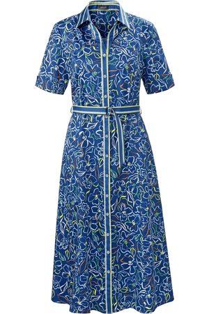 Basler Dames Geprinte jurken - Jurk in overhemdmodel bloemenprint