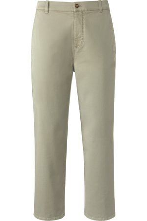 DAY.LIKE Dames Chino's - 7/8-Slim Fit-broek elastische tailleband Van