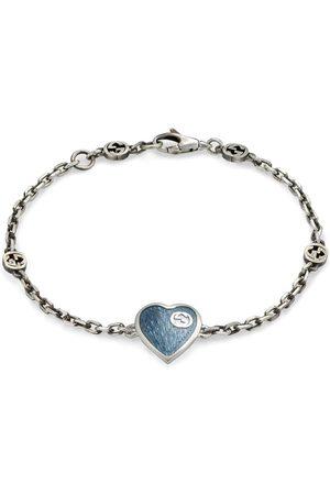 Gucci Interlocking GG heart bracelet