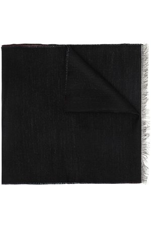 Givenchy Gradient logo print fringed scarf