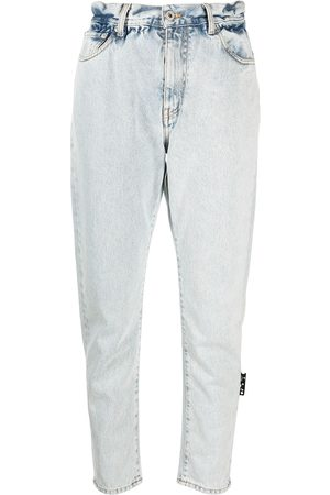 OFF-WHITE Tapered cropped jeans