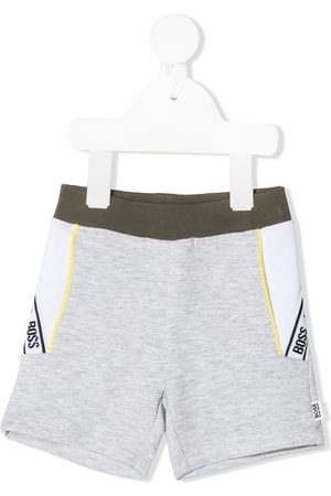 HUGO BOSS Logo stripe shorts