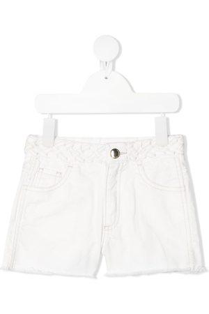 Chloé Braided waistband shorts