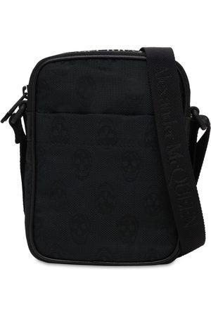 Alexander McQueen Skull Print Nylon Crossbody Bag
