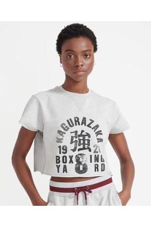 Superdry Dames Sweaters - Sport Afgeknipt Training Boxing sweatshirt