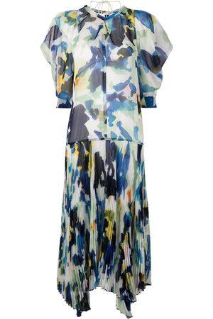 Proenza Schouler Floral print midi dress