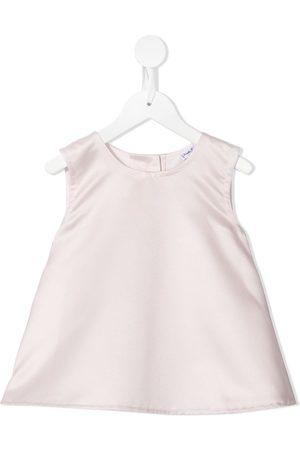Piccola Ludo Sleeveless flared dress
