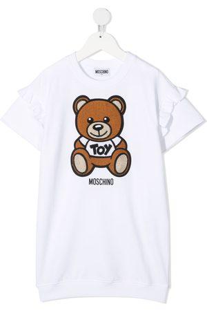Moschino Teddy-print T-shirt dress