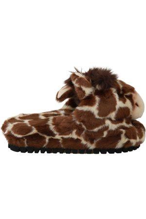 Dolce & Gabbana Dames Slippers - Giraffe Slippers