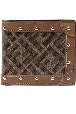 Fendi FF logo-print wallet