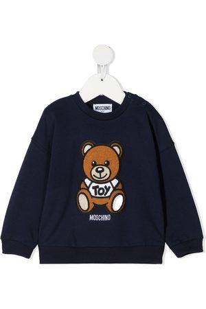 Moschino Toy Teddy print sweatshirt
