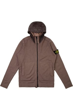 Stone Island Knitted zip-front cardigan
