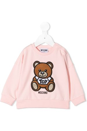 Moschino Toy Bear embroidered sweatshirt