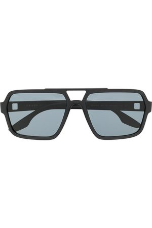 Prada Navigator tinted sunglasses