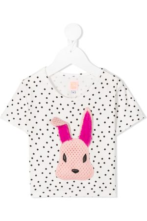 Wauw Capow by Bangbang Rabbit embroidered T-shirt