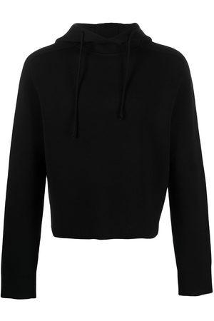 Bottega Veneta Knitted drawstring hoodie