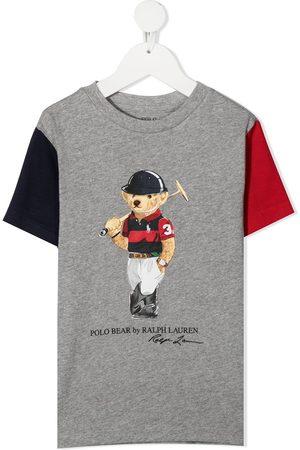 Ralph Lauren Polo Bear colour-block T-shirt