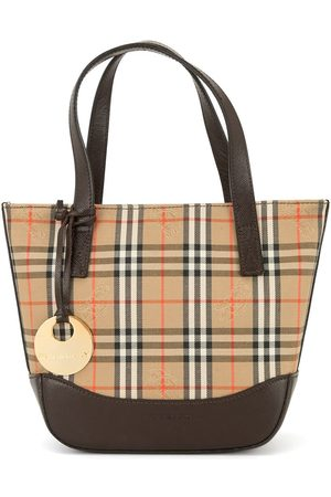 Burberry Mini Nova check tote bag