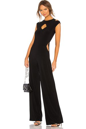 Norma Kamali Sleeveless Cut Out Jumpsuit in