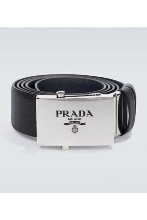 Prada Saffiano reversible leather belt