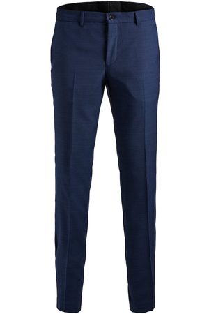 Jack & Jones Heren Pantalon - Super Slim Fit Pantalon Heren Blauw