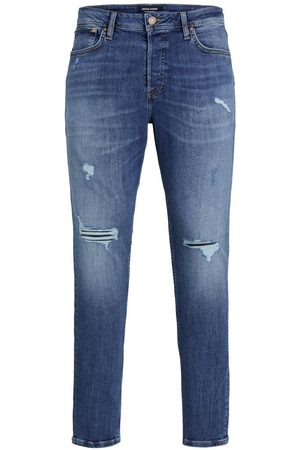 Jack & Jones Pete Original Cj 296 Skinny Tapered Jeans Heren Blauw