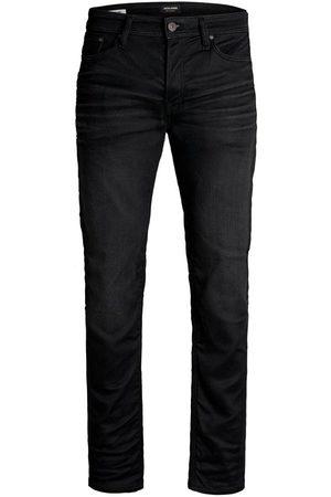 Jack & Jones Heren Slim - Mike Original Jos 697 Indigo Knit Comfort Fit Jeans Heren Zwart