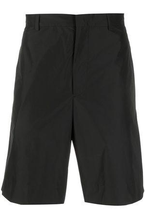 Prada Heren Shorts - Triangle patch logo shorts
