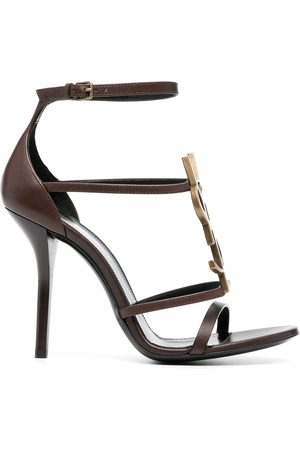 Saint Laurent Cassandra high-heel sandals