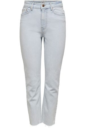 Only Onlemily Life Hw Cropped Straight Fit Jeans Dames