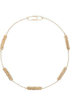 Aurélie Bidermann Blé gold plated choker necklace