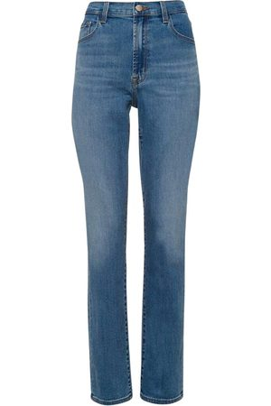 J Brand Teagan High Rise Straight Uncharted Jeans