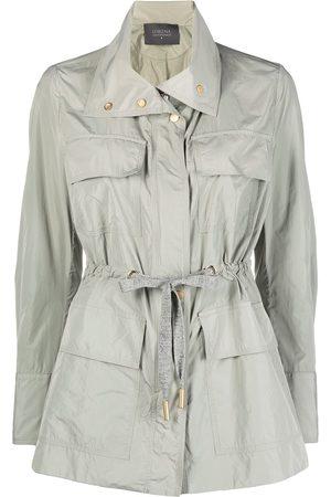 LORENA ANTONIAZZI Tie-waist windbreaker jacket