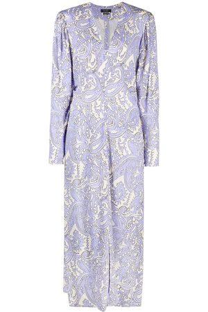 Isabel Marant V-neck paisley-print maxi dress
