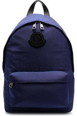 Moncler Heren Rugzakken - Logo-patch zip-fastening backpack