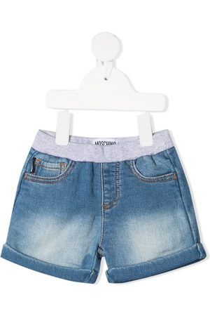 Moschino Mid-rise elasticated shorts