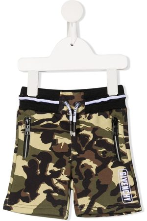 Givenchy Camouflage-print track shorts