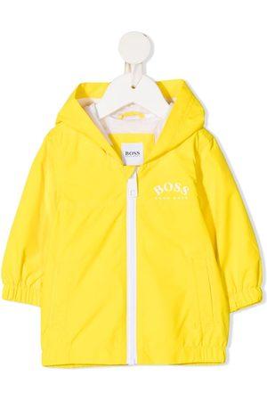 HUGO BOSS Logo-print hooded jacket